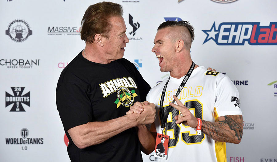 Arnold Schwarzenegger Body by Leon