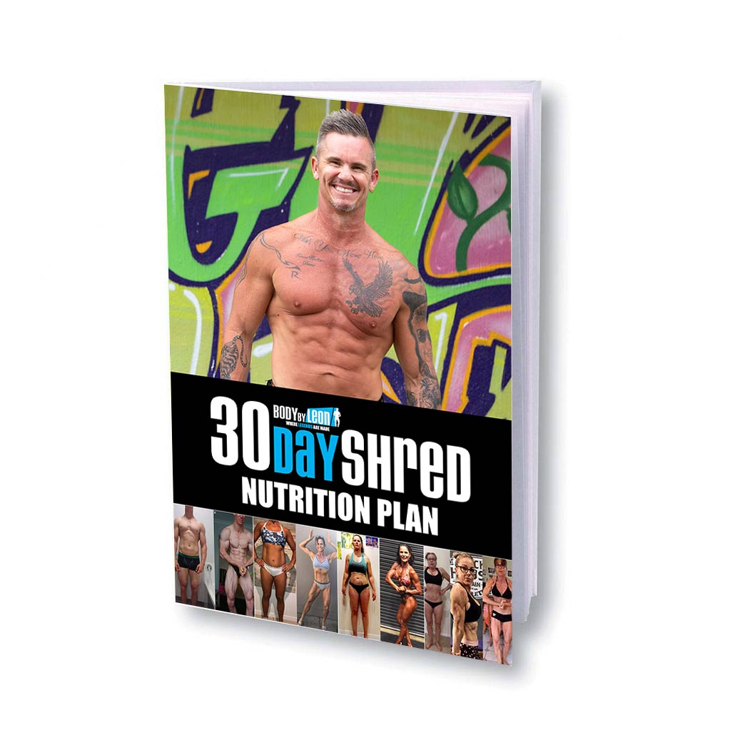 30-Day-Shred-nutrition-plan